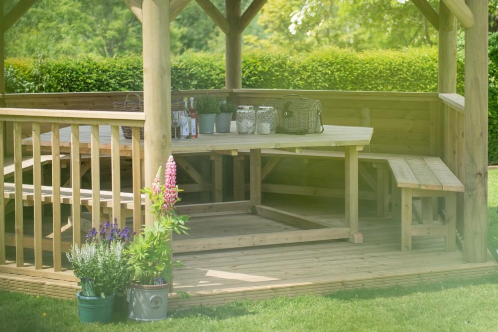 5 hlavných dôvodov, prečo mať záhradný altánok