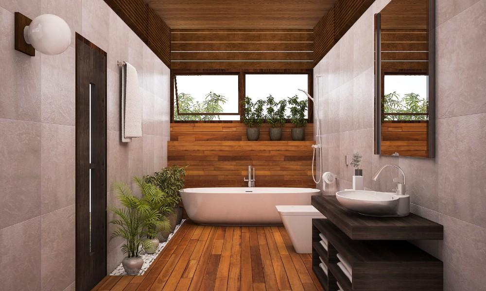 Moderné kúpeľne môžu byť aj v tradičnom šate